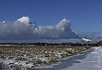 vulkanähnliche Wolken über Haaja