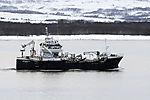 trawler Baaragutt near Tromso