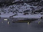 salmon farm in Langöysundet