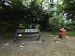 waste in park