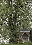 world war memorial on cemetery in Leer