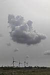 Wolke über Erdgasanlandung Gassco in Rysum