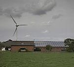 wind and solar power near Rysum