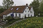 old houses of fishermen in Greetsiel