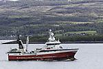 trawler Hermes in Sandnessund