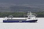 freighter Rubin in Sandnessund