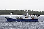 norwegian trawler Asbjörn Selsbane near Tromso