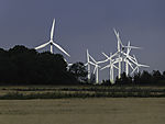 wind park in northern Germany