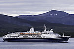 cruiseship Marco Polo near Tromso