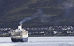 Kreuzfahrtschiff Marco Polo bei Tromsö