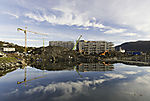 big construction site in Tromso