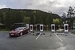 Tesla Ladestation im Saltdal