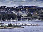 Baukräne in Oslo