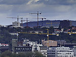 building cranes in Oslo