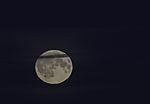 full Moon over swedish westcoast