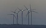 wind park on island Lolland