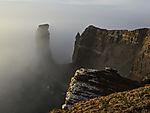 Lange Anna im Nebel