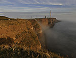 mist at island Helgoland
