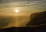 Nebel bei Helgoland