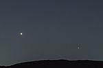 planet Venus as morning star
