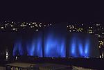 blaue Nordlichtshow on Rörvik