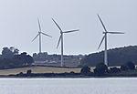 Windräder auf Langeland
