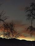 Morgendämmerung mit Venus in Südnorwegen
