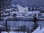 snow winter in Tromso