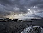 Hurtigrute läuft Finnsnes an