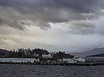 Hurtigrutenkai in Finnsnes