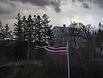 großes Haus in Finnsnes