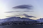 orographische Wolken über Lille Blaamannen