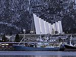 ehemaliges norwegisches Forschungsschiff Lance in Tromsö