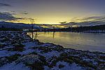 polar night in northern Norway
