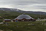 visitor centre at polar circle