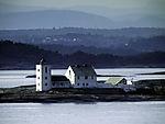 lighthouse Fulehuk Fyr in Oslofjord