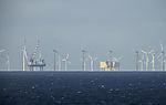 Windpark bei Helgoland
