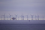 windpark off island Helgoland