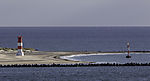 leerer Strand auf Helgoland