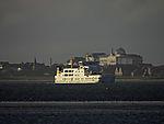 ferry Frisia II off island Juist