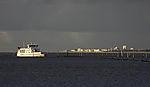 ferry Frisia I befor island Norderney