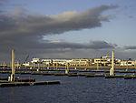quiet winter in Norddeich harbour