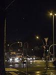 Planeten Venus und Jupiter über Hamburg