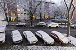 snowmorning in Hamburg