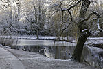 winter morning in Hamburg