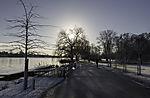 winter at lake Alster