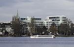 luxury hotel The Fontenay in Hamburg