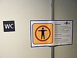 label defect WC in train