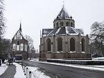 Ludgeri-Kirche in Norden im Winter