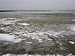 Schnee und Eis im Wattenmeer